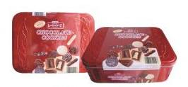 Lambertz chocolate chữ nhật 1000
