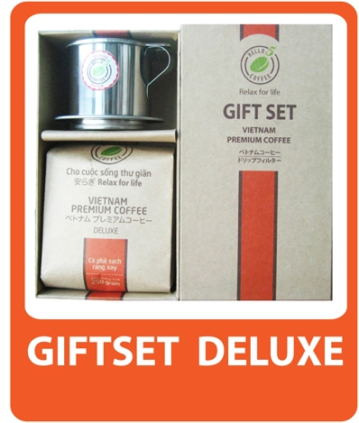 BỘ QUÀ GIFTSET DELUXE - HELLO 5